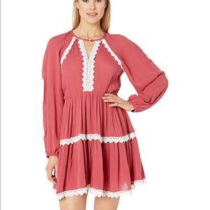 Rock & Roll Cowgirl Long Sleeve Lace Dress XL